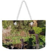 Abstracted Reflection Weekender Tote Bag