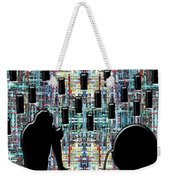 Abstraction 104 Weekender Tote Bag by Patrick J Murphy