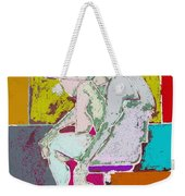 Abstraction 113 Weekender Tote Bag by Patrick J Murphy