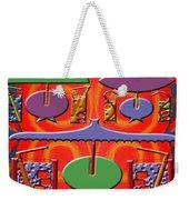 Abstraction 177 Weekender Tote Bag by Patrick J Murphy