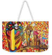 Abstraction 445 - Marucii Weekender Tote Bag