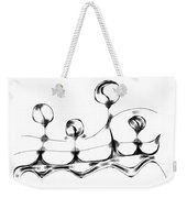 Abstraction 489-10-13 Maruci Weekender Tote Bag