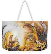 Abstraction 589-11-13 Marucii Weekender Tote Bag