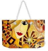 Abstraction 676 - Marucii Weekender Tote Bag