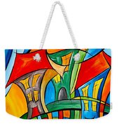 Abstraction 756 - Marucii Weekender Tote Bag