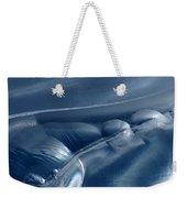 Abstraction In Blue Weekender Tote Bag