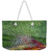 Abstraction Of Life Weekender Tote Bag
