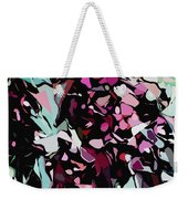 Abstraction Red And Green Weekender Tote Bag