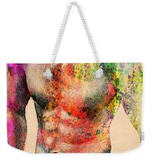 Abstractiv Body -2 Weekender Tote Bag