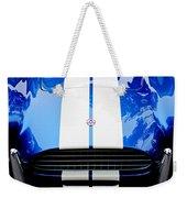 Ac Shelby Cobra Grille - Hood Emblem Weekender Tote Bag