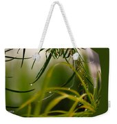 Acacia Water Drops Weekender Tote Bag