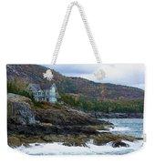 Acadia Seaside Mansion Weekender Tote Bag