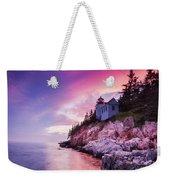 Acadia Sunset Weekender Tote Bag