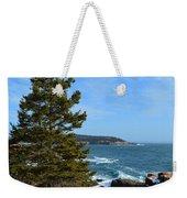 Acadian Shores In Winter Weekender Tote Bag