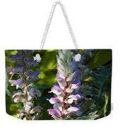 Acanthus Flower Weekender Tote Bag