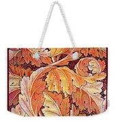 Acanthus Vine Design Weekender Tote Bag