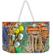 Accessories To Shrimp Catching Weekender Tote Bag