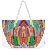 Accidental Art Visualizations Female Hands Loosen Their Shield On Bossoms And More Beneth It Weekender Tote Bag