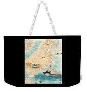 Accomplice Kodiak Crab Fishing Boat Cathy Peek Nautical Chart Map  Weekender Tote Bag