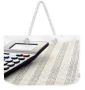 Accounting Weekender Tote Bag
