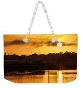 Acela Sunset Weekender Tote Bag