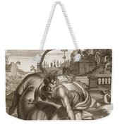 Achelous In The Shape Of A Bull Weekender Tote Bag