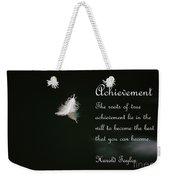 Achievement Weekender Tote Bag