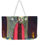 Acolyte With Fire Pots Weekender Tote Bag