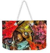 Acorns And Leaves Weekender Tote Bag