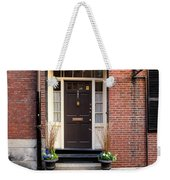 Acorn Street Door And Lamp Weekender Tote Bag