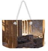 Acropolis Temple Weekender Tote Bag by Brian Jannsen