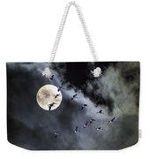 Across A Harvest Moon Weekender Tote Bag