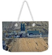 Across The Berkeley Pit Viewing  Weekender Tote Bag