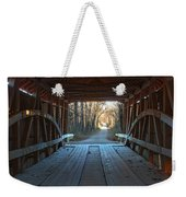 Across The Bridge And Through The Woods Weekender Tote Bag