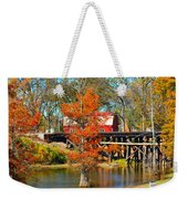 Across The Bridge Weekender Tote Bag