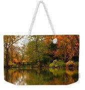 Across The Lake Weekender Tote Bag