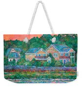 Across The Marsh At Pawleys Island       Weekender Tote Bag