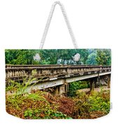 Across The Old Bridge Weekender Tote Bag