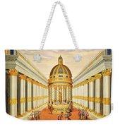 Bacchus Temple Weekender Tote Bag