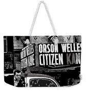 Actor Co-writer Director Orson Welles Premier  Citizen Kane Palace Theater New York  May 1 1941-2014 Weekender Tote Bag