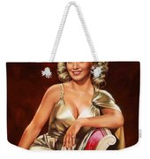 Actress Carole Landis Weekender Tote Bag