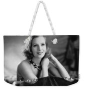 Actress Greta Garbo Weekender Tote Bag