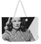 Actress Katharine Hepburn Weekender Tote Bag