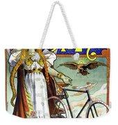 Ad Bicycles, 1898 Weekender Tote Bag