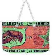 Ad Lobster, C1867 Weekender Tote Bag