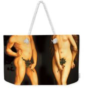 Adam Eve And The Serpent Weekender Tote Bag