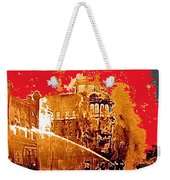 Adams Hotel Fire 1910 Phoenix Arizona 1910-2012 Weekender Tote Bag
