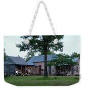 Log Cabins And House Weekender Tote Bag