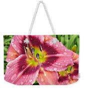 Addie Branch Smith Daylily Drops Weekender Tote Bag