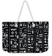Adinkraglyphics Weekender Tote Bag